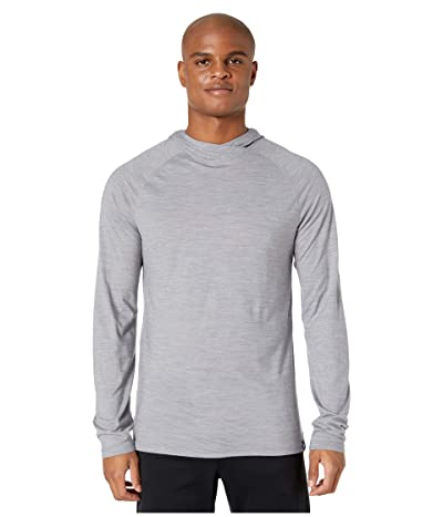 Smartwool Merino Sport 150 Hoodie (Light Gray Heather) Men