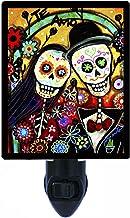 Sugar Skull Night Light, Te Amo Wedding, Decorative Skull, Calavera