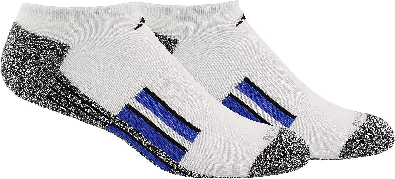 adidas mens Cushioned X 2 No Show Socks (2-pair)