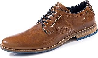 BULLBOXER Messieurs voilure//lacets//Business Chaussure ccgnasu 10 cognac marron 794