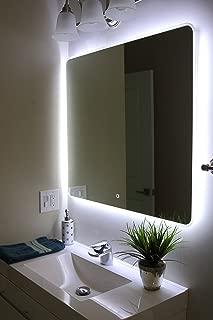 Windbay Backlit Led Light Bathroom Vanity Sink Mirror. Illuminated Mirror. (36