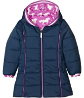 Hatley Kids - Fairy Tale Horses Reversible Winter Puffer (Toddler/Little Kids/Big Kids)