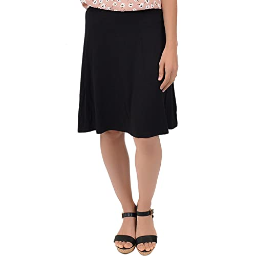 9c9779973bc2 Stretch is Comfort Women's A-Line Knee Length Flowy Skirt