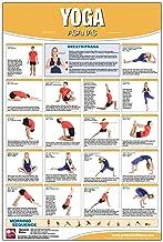 Yoga - Asana Poster/Chart Laminated; Yoga Poster, Yoga Chart, Asana Chart, Yoga poses, Yoga Stretches Chart, Yoga Workout, Hatha Yoga Chart, Flow Yoga, Ashtanga Yoga, Yoga Sutras, Yoga Positions