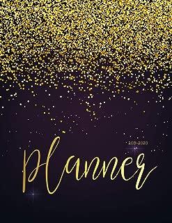 2019-2020 Planner: Daily Weekly Monthly Calendar Planner | 24 Months Jan 2019 - Dec 2020 For Academic Agenda Schedule Organizer Logbook and Journal ... Monthly Calendar Planner 8.5 x 11) (Volume 2)