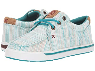 Twisted X Hooey Loper (Little Kid/Big Kid) (Blue/Multi) Shoes