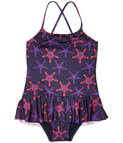Vilebrequin Kids Starfish Dance Grilly (Toddler/Little Kids/Big Kids) (Sapphire) Girl