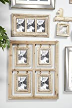 Deco 79 PHOTO FRAME WALL, Large, Brown