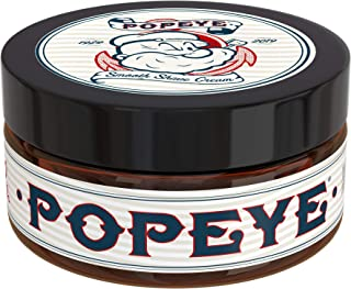 Shave Cream for Men by Popeye Shaving Co - 8 oz Sandalwood - Smooth Shave Cream Fights Irritation and Razor Burn