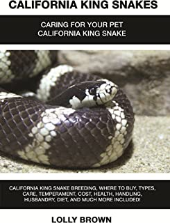 California King Snakes: California King Snake breeding, where to buy, types, care, temperament, cost, health, handling, husbandry, diet, and much more included! Caring For Your Pet California King
