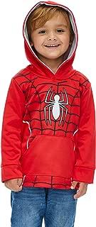 Marvel Boys Athletic Fleece Pullover Hoodie with Pockets Spiderman Hulk