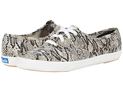 Keds Champion Animal (Cream/Black) Women