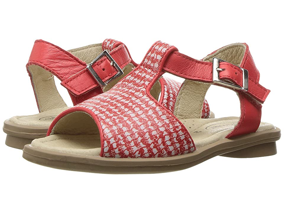 Old Soles Sugar Sandal (Toddler/Little Kid) (Red/Bianco/Bright Red) Girls Shoes