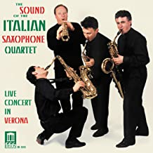 Sound of Italian Saxophone Quart Live in Verona