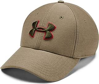 Under Armour Erkek Başlık ve Bere UA Men's Heathered Blitzing 3.0-GRN, Yeşil, L (Üretici ölçüsü: L)
