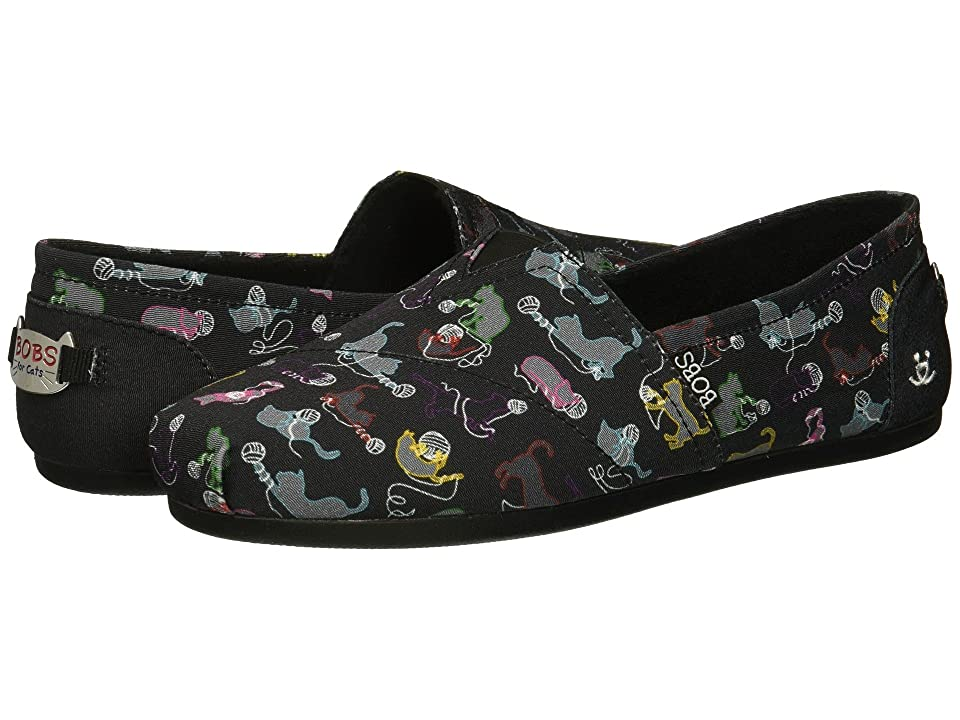 BOBS from SKECHERS BOBS Plush Ball O (Black Multi) Women