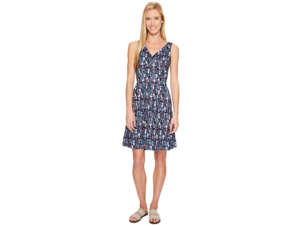 Woolrich On The Way Printed Dress (Navy) Women