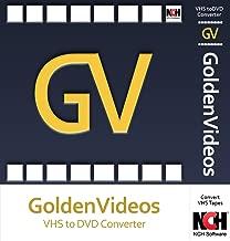 Golden Videos VHS to DVD Converter Software - Convert VHS to DVD or Digital Files [Download]