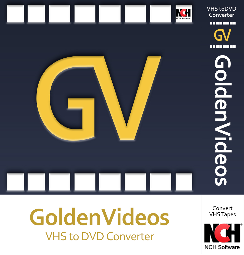 Golden Videos VHS to DVD Converter Software - Convert VHS to DVD or Digital...