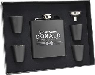 cigar flask groomsmen gift