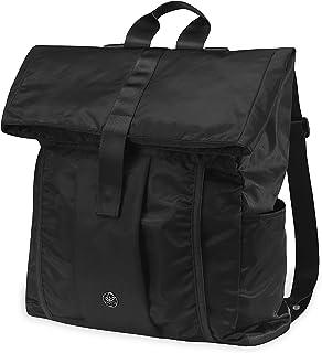 Gaiam Holds Everything Yoga Mat Bag Backpack with Yoga Mat Carrier Sleeve (تناسب معظم مقاسات السجاد)