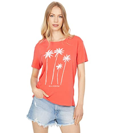 Billabong Breezy Palms Short Sleeve Boyfriend Tee