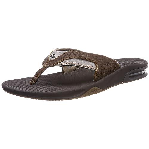 e4461ef21f6 Reef Men s Leather Fanning Sandal