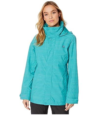 Burton Jet Set Jacket (Green/Blue Space Dye) Women