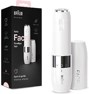 Braun Face Mini Hair Remover FS1000, Electric Facial Hair Removal for Women, Facial Hair Remover, Quick & Gentle, Finishin...
