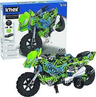 K'NEX Mega Motorcycle Building Set - Ages 9+ - 456 Parts - Working Suspension, Authentic Replica Model, Advanced Stem Buil...