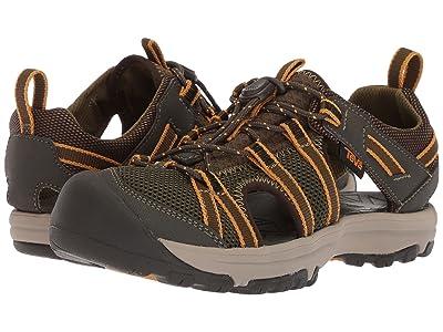 Teva Kids Manatee (Little Kid/Big Kid) (Dark Olive) Boys Shoes