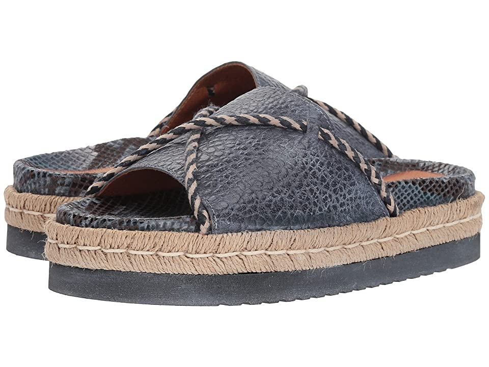 Free People Dempsey Footbed (Blue) Women