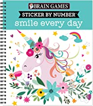 Download Book Brain Games - Sticker by Number: Smile Every Day PDF