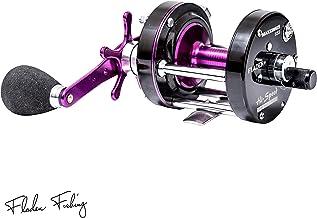 Fladen Maxximus 6500 - Carrete multiplicador de pesca de alta velocidad