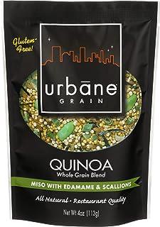 Urbane Grain Quinoa Blend Miso Edamame Scallops, 4 oz