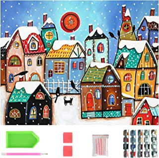 40 * 30CM DIY 5D Diamond Painting Kits for Kids, Crystal Art Kits for Adults, Painting by Numbers Are Very Suitable for Pa...