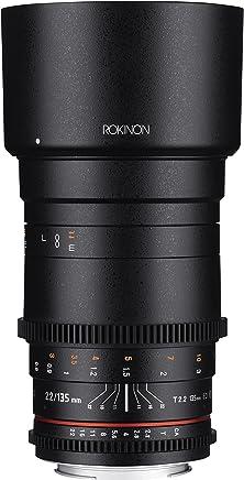 Rokinon Cine DS T2.2 ED UMC Telephoto Cine - Lente para teleobjetivo (135 mm)