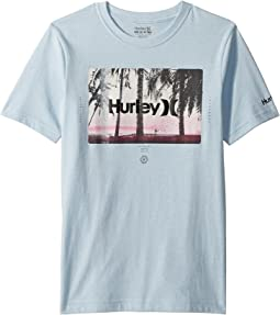Hurley Kids Sunrays Tee (Big Kids)