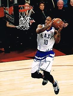 Signed DeMar DeRozan Photo - 11X14 2015 ALL STAR GAME COA B - Autographed NBA Photos