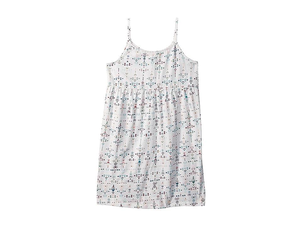 Roxy Kids Higher and Higher Dress (Toddler/Little Kids/Big Kids) (Marshmallow Azaz) Girl