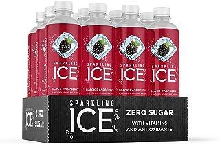 Sparkling Ice, Black Raspberry Sparkling Water, with Antioxidants and Vitamins, Zero Sugar