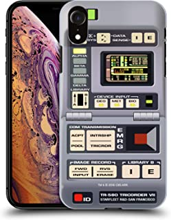 Official Star Trek Tricorder Gadgets TNG Hard Back Case Compatible for iPhone XR