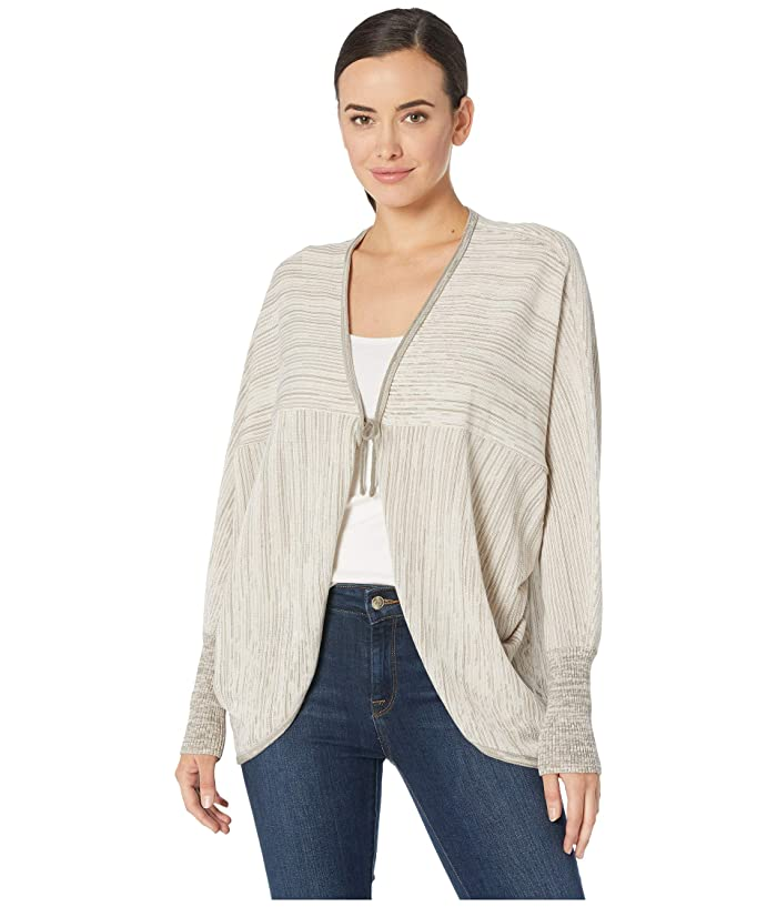 Royal Robbins Alcove Cocoon Sweater (Shell Stripe) Women