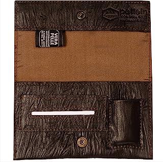 Pellein - Portatabacco in vera pelle Mojo - Astuccio porta tabacco, porta filtri, porta cartine e porta accendino. Handmad...