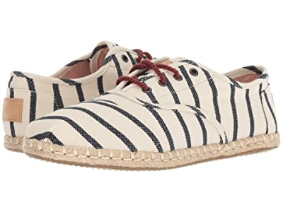 TOMS Cordones (Natural Stripe Woven) Women