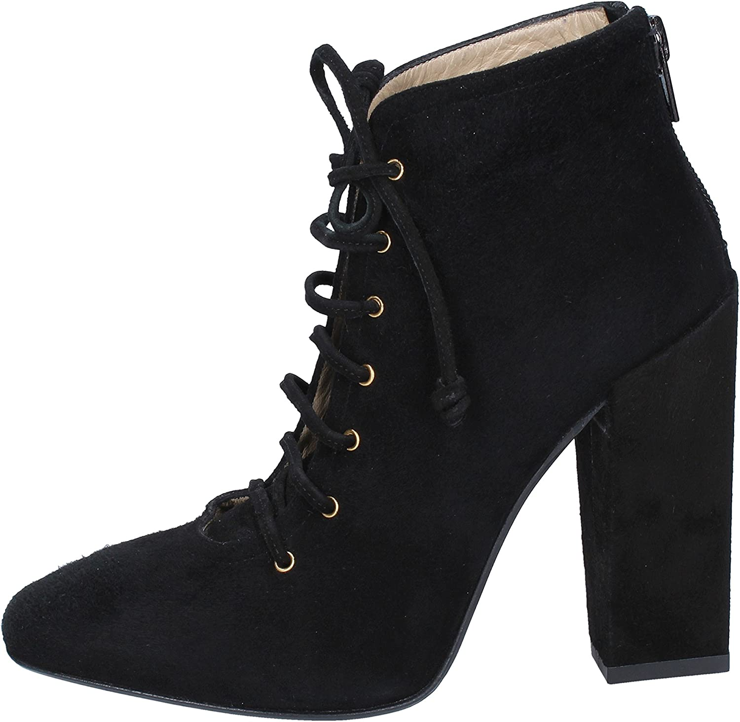 GIANNI MARRA Boots Womens Suede Black