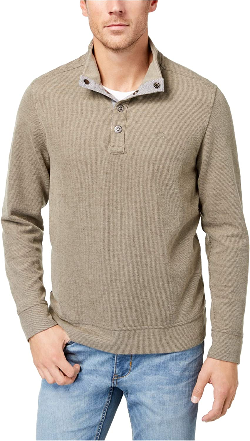 Tommy Bahama Men's Cold Springs Snap Mock Neck Sweater
