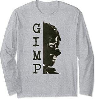 Gimp Costume Fetish The Gimp Mask BDSM Latex Gimp Suit Long Sleeve T-Shirt