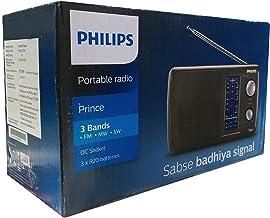 Philips Portable Radio-Black