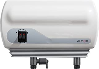 Atmor AT-900-06 Tankless Water Heater Electric, 6.5kW, White